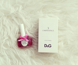pink, D&G, and girly image