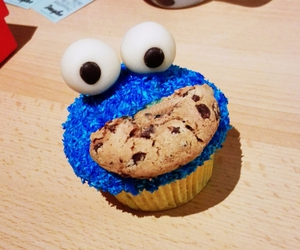 blue monster, Cookies, and food image