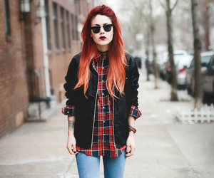 cute girl, alternative, and fashion image