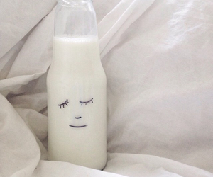 milk, white, and aesthetic image