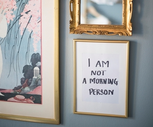 art, morning, and frames image