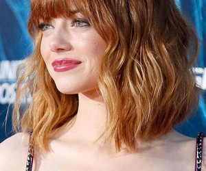emma stone and hair image