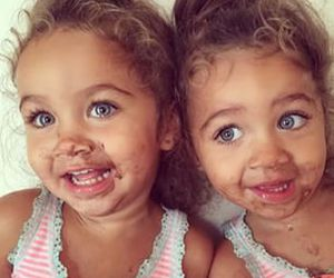 cute, baby, and twins image