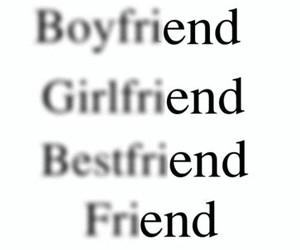 end, friends, and boyfriend image