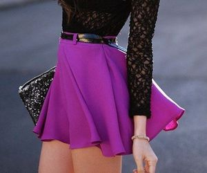 fashion, girly, and purple image
