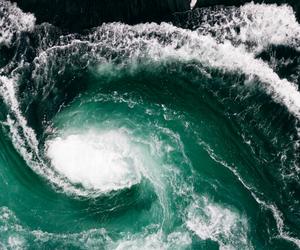 sea, nature, and bird image