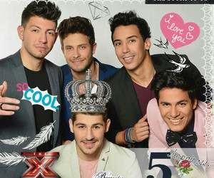 boys, x factor, and the five image