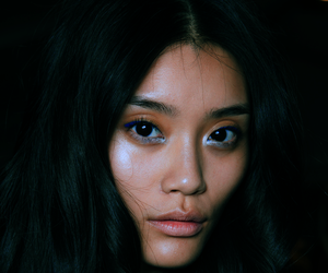 model, makeup, and ming xi image