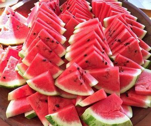 delicious, food, and watermelon image