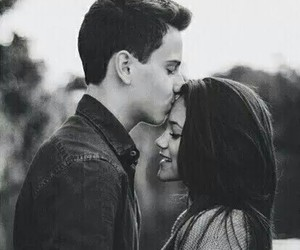 black and white, romantic, and love image