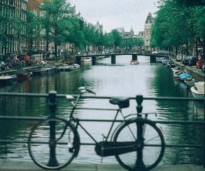amsterdam, landscape, and vintage image