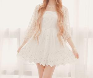 dress, girl, and kfashion image