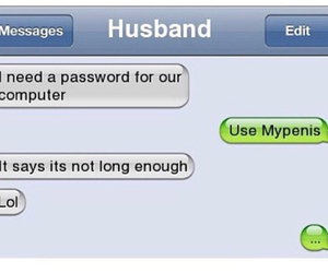 husband, text, and wife image