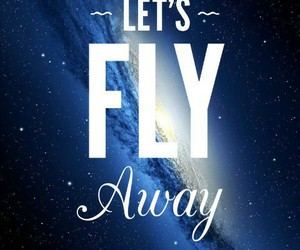away, fly, and planets image