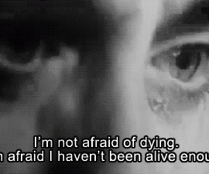 quote, alive, and mr nobody image