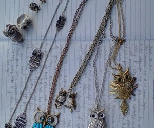 accessories, owl, and love image