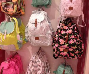 backpack, beautiful, and girl image