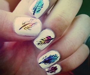 colors, nails, and ombre image