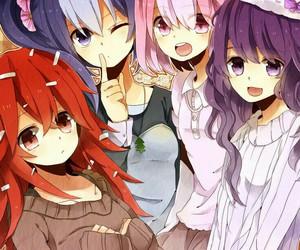 anime, happy tree friends, and flaky image