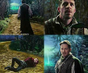 once upon a time, robin hood, and knave of hearts image