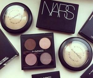 mac, nars, and makeup image