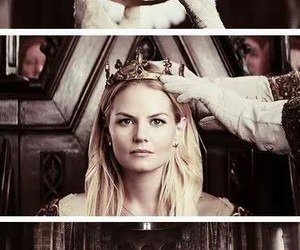 emma swan, once upon a time, and Queen image