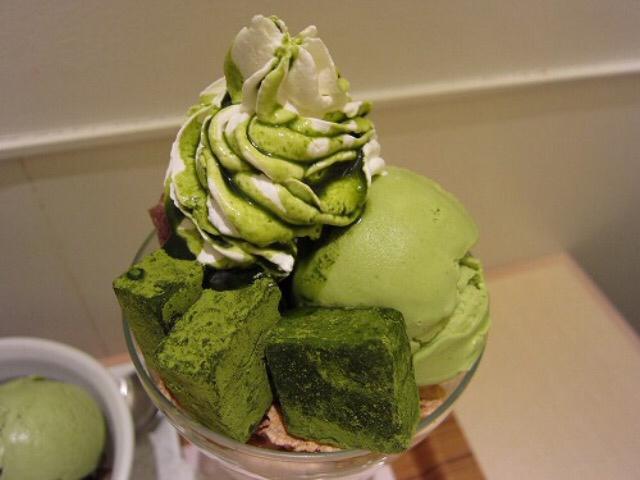japan and green tea image