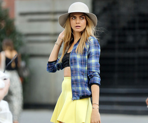 cara delevingne, model, and fashion image
