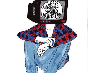 generation, tv, and art image