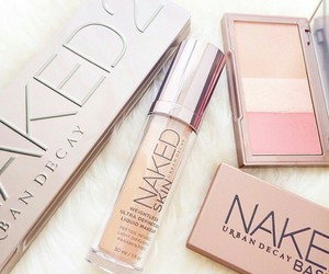 beauty, make-up, and naked image