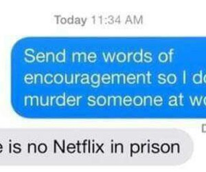 funny, netflix, and prison image
