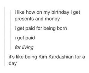 funny, jokes, and kim kardashian image