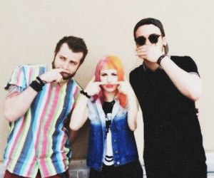 bands, hayley williams, and jeremy davis image