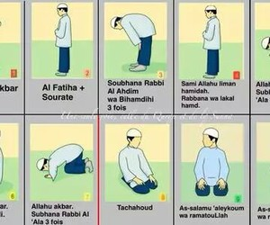salat, islam, and prière image