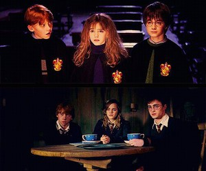 harry potter, friends, and ron weasley image