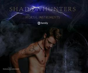 the mortal instruments, shadowhunters, and dominic sherwood image