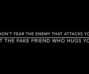 enemy, friend, and quotes image