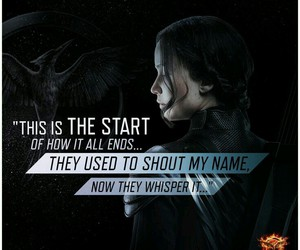 mockingjay, lorde, and the hunger games image