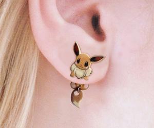 earrings, pokemon, and cute image