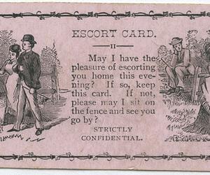 card and escort card image