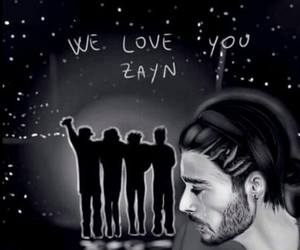 stay strong, zayn malik, and one direction image