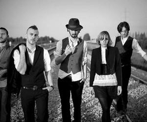 band, asaf avidan, and black'n white. music image