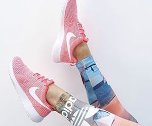 nike, adidas, and fitness image