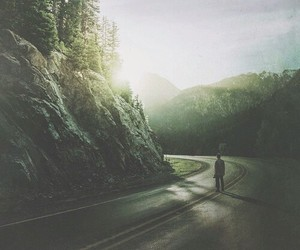 alone, dark, and grunge image