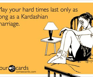 quote, funny, and kardashian image