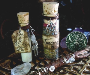 crystal, magic, and pagan image