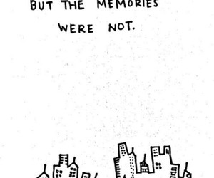 book, memories, and quotes image