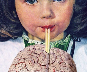 brain, wallpaper, and art image