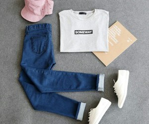 convers, fashion, and jeans image