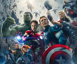 Avengers, black widow, and Hulk image